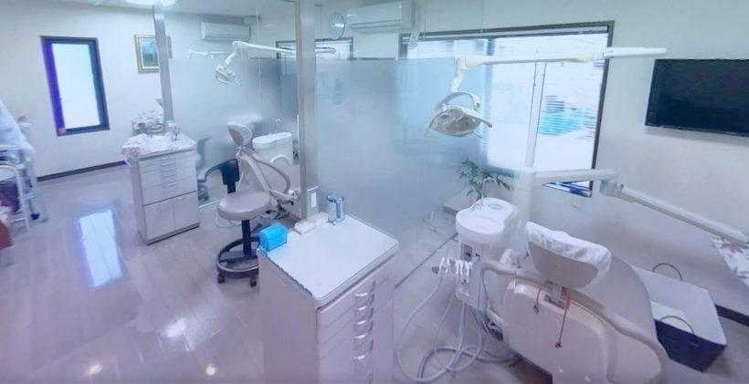 瓢箪山の歯医者医療法人小川歯科医院の診療室