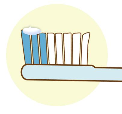 歯磨き剤の量